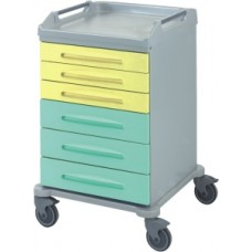 Тележка медицинская с 6 ящиками 16-FT620