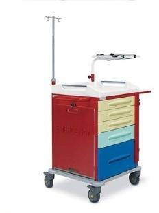 Медицинская тележка для скорой помощи 16-FT630 Вариант 3 (16-FT632)