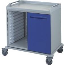 Тележка медицинская для лотков и корзин 16-FT970
