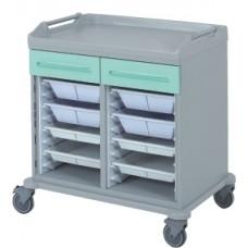 Медицинская тележка для корзин и лотков 16-FT950