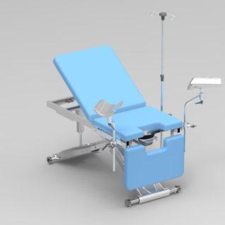 Смотровое гинекологическое кресло электрическое