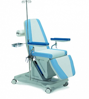 Многофункциональное донорское кресло электрическое (ножная секция - гидравлика) 19-PO300 (Вариант 1)