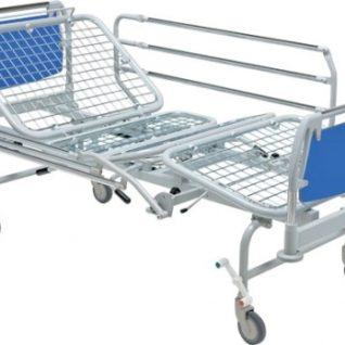 Медицинская кровать четырехсекционная механическая 11-CP136