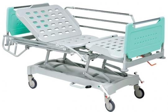 Медицинская функциональная кровать четырехсекционная регулировка высоты гидравлика 11-CP179