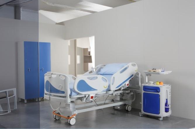 Реанимационная медицинская кровать для интенсивной терапии 11-СР219 (Базовая комплектация 2)