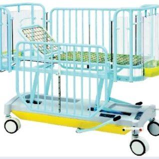 Медицинская кровать детская 2-х секционная с изменяемой высотой ложа (гидравлика) 19-FP654 (Вариант 1)