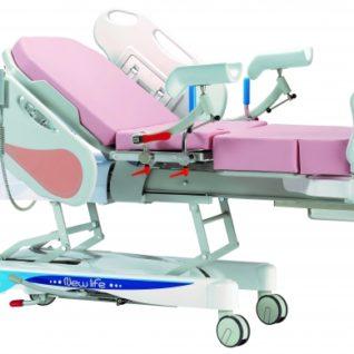 Акушерская кровать для родовспоможения гидравлическая 19-PO900
