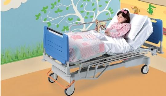 Больничная медицинская кровать 4-х секционная с регулируемой высотой ложа (электропривод) 11-CP163