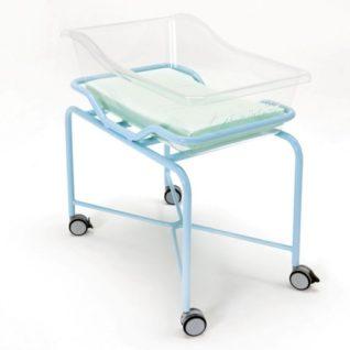 Медицинская кровать для новорожденных из плексигласа 19-FP650 (Вариант 2)