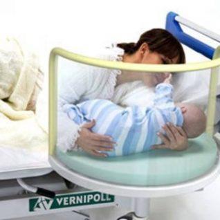 Медицинская кровать для новорождённых 24-PE130