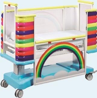 Медицинская функциональная кровать детская 2-х секционная (электрика) 24-PE150