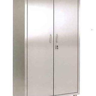 Медицинский шкаф из нержавеющей стали с 4-мя полками 13-FP271 (Вариант 2)