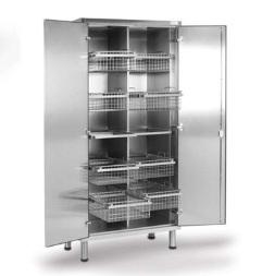 Медицинский шкаф из нержавеющей стали для хранения стерильного материала 13-FP271 (Вариант 4)