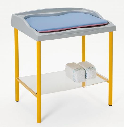 Медицинский пеленальный стол с матрасиком 19-FP656 (Вариант 2)