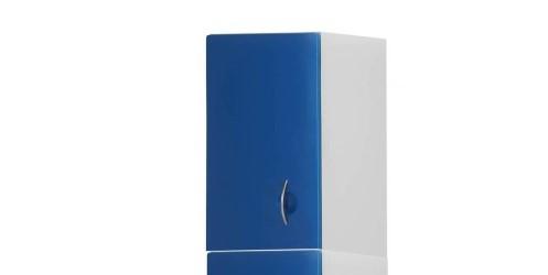 Медицинский шкаф-антресоль с 1 дверцей из технополимеров 13-CT194 (Вариант 1)