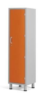 Медицинский шкаф палатный с 1 отделением из многослойного пластикового ламината 13-CP201 (Вариант 1)