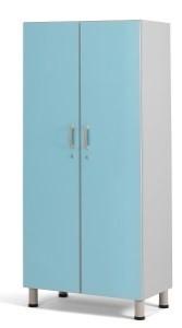 Медицинский шкаф палатный с 2-мя отделениями из биламината 13-FP182 (Вариант 1)