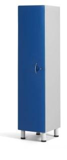 Медицинский шкаф палатный с 1 отделением - дверца из технополимеров 13-CT191 (Вариант 1)