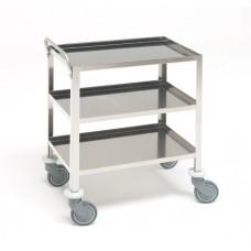 Инструментальный медицинский стол с 3 полками 16-FP411 (Вариант 2)