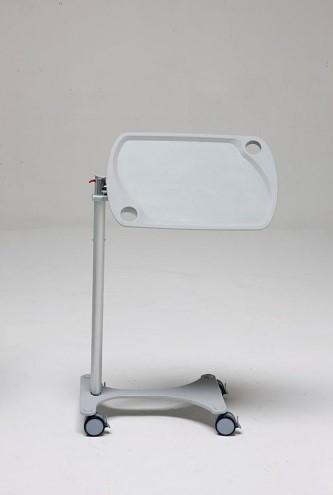Прикроватный независимый наклонный столик с изменяемой высотой (газовой пружиной) 12-CD310 (Вариант 2)