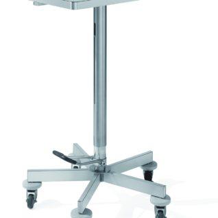 Медицинский инструментальный столик на колесах с гидравлическим изменением высоты 16-FP442 (Вариант 2)