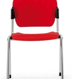 Медицинский стул фиксированный из полипропилена без подлокотников 17-PT260