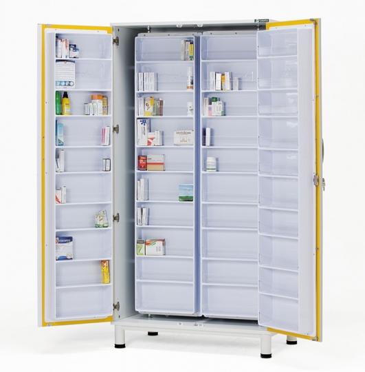 Медицинский шкаф для медикаментов 13-FP801 (Вариант 2)