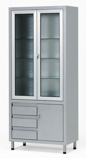 Медицинский шкаф для медикаментов и инструментов 13-FP248
