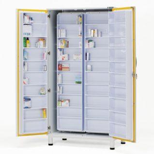 Медицинские шкафы для медикаментов и инструментов