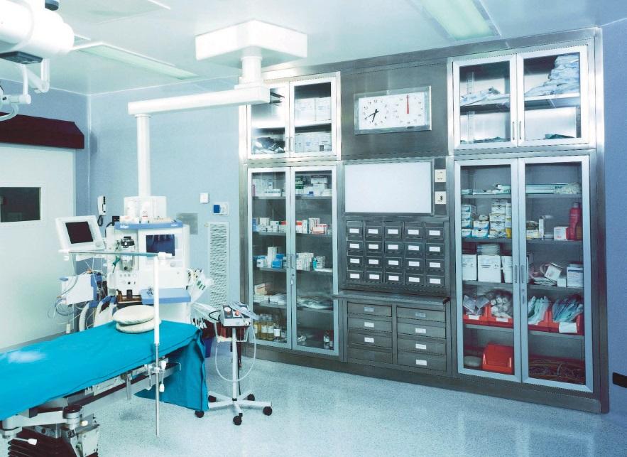 Медицинские шкафы металлические Vernipoll